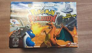Pokémon Stadium N64 Español (todo Original)