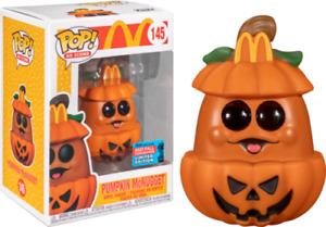 Pumpkin McNugget McDonalds NYCC 145 Funko Pop Vinyl New in Mint Box + Protector