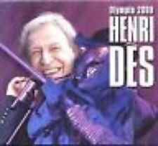 CD DIGIPACK HENRI DES - OLYMPIA 2009  / neuf & scellé
