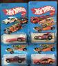 Hot Wheels Lot 4 cars greased gremlin, Tricar Tbird, Turismo Vintage Blackwalls