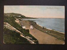 1910 Greystones Wicklow Ireland Shanghai China Beach RPPC Photo Postcard Cover