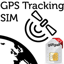 GPS Tracking SIM Card - for Car, Vehicle, Hiking, Pets from Giffgaff (on O2)