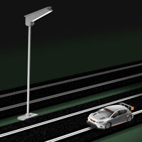 1:32 Scale Lamp Posts for Slot Cars (single side, 3 pcs)