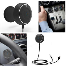 Mini 3.5mm AUX Input NFC Hands Free Wireless Bluetooth Car Speaker Phone Mobile