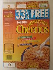 Empty Cereal Box HONEY NUT CHERRIOS 2000 NESTLE 500g From the UK [G7C12m]