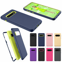 For Samsung Galaxy S10 Plus Shockproof Slim Rubber Protective Phone Case Cover