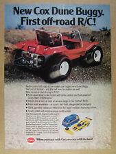 1978 Cox RC Dune Buggy photo vintage print Ad