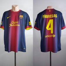 Football shirt soccer FC Barcelona Barca Home 2012/2013 Nike jersey Fabregas #4