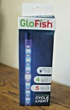 New! Glofish 4-Mode Color Changing Cycle Light  Up to 5 Gal Tank AQ-29290  2906