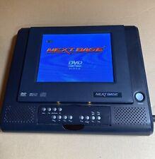 """Next Base Portable DVD SDV756-B 5.6"""" DVD Player rechargeable"""