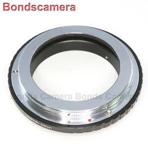 Tamron Adaptall AD 2 Lens To Nikon F mount camera Adapter D4 D90 D700 D800 D7000