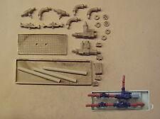 P&D Marsh N Gauge N Scale M35 Large pumps, valves & pipework kit needs painting