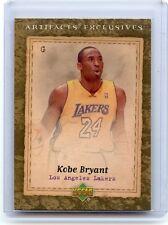 "2007-08 NBA ARTIFACTS #221 KOBE BRYANT ""ARTIFACTS EXCLUSIVES"", LAKERS, 030914"