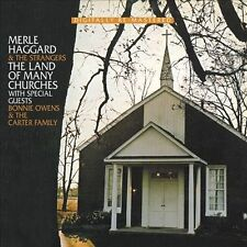 NEW Merle Haggard  -  Land Of Many Churches (Audio CD)