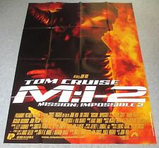 AFFICHE CINEMA 2678 - MISSION IMPOSSIBLE 2 - MI2 - JOHN WOO - FORMAT 120 / 160