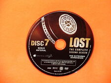 JUST THE DISC 7 bonus material Lost from second season Widescreen JUST THE DISC