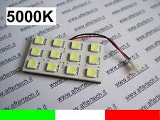 PANEL 12LED SMD5050 BLANCO 5000K T10 BA9S SILURO L25