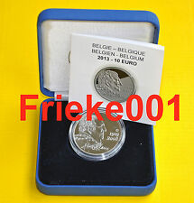 België - Belgique - 10 euro 2013 Proof.(Hugo Claus).
