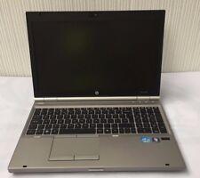HP EliteBook 8560p Intel (R) Core (TM) i5-2520M@2.50GHz 4 Go 320 Go Win 7 Pro