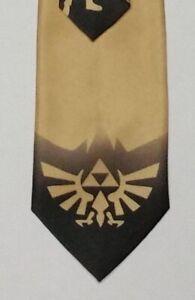 Legend of Zelda Gold Triforce Necktie