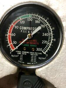 Vintage RAC Compression Gauge