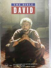The Bible - David Parts 1 & 2 DVD 1997 as Jonathan Pryce Leonard Nimoy