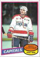 1980-81 Topps Mike Gartner Rookie Washington Capitals #195
