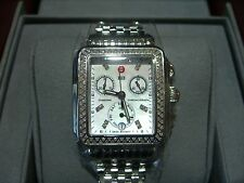 MICHELE WATCH Deco Day Diamond, Authentic with Box & Papers RETAILS $1995.00 **>