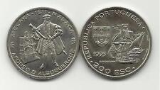 200 Escudos From Portugal -KM# 681 - AFONSO DE ALBUQUERQUE - MALACA - NEW
