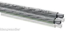 OEHLBACH Silverline 40 / 4mm² / Versilbertes Lautsprecher-Kabel / 1020 / Neu