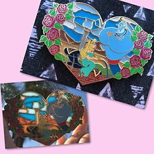 Princess Invades Disney Fantasy pin LE 50 Jasmine Aurora Genie Sleeping Beauty