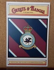 Royal Air force No 24 Squadron Crests & Badges of  the Armed services Postcard