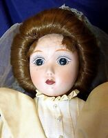 """Catherine...Gibson Girl"" Doll By Danbury Mint Brides of America w/ Certificate"