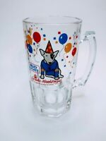 Vintage Spuds MacKenzie Beer Glass Mug Stein Budweiser Bud Light 1987 Party