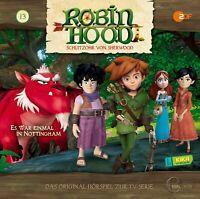 ROBIN HOOD-SCHLITZOHR VON SHERWOOD - (13)HÖRSPIEL ZUR TV-SERIE   CD NEW
