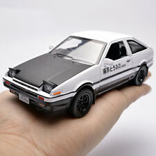 NEW Initial D Metal For Toyota AE86 1:28 Car Model Toy With Sound Light Toy UK