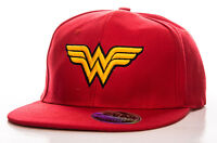 Officially Licensed Wonder Woman Wings Adjustable Size Snapback Cap
