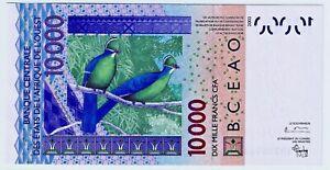 "B.C.E.A.O  Billet 10.000 CFA 2003  NEUF / UNC  ""B""   BENIN (DAHOMEY)"