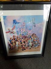 Disney Lithograph Charles Boyer- 45 years of magic