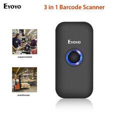 CCD Bluetooth Barcode Scanner 3-in-1 Bar Code Reader Image 1D Screen Scanning