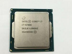 Intel Core i7 - 6700K / SR2L0   4.0GHz 8MB Quad-Core CPU LGA1151
