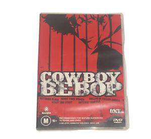 COWBOY BEBOP  DVD- REGION 4 Anime
