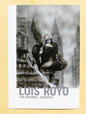 HUBERT BREYNE  invitation Luis ROYO 2002/2012