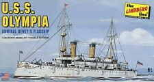 Lindberg 402 U.S.S. Olympia Admiral Dewey's Flagship model kit 1/240