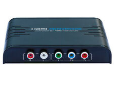 New Component(YPbPr) to HDMI 1080P Video Audio Converter Up-Scaler