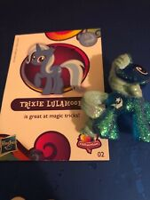 My Little Pony TRIXIE LULAMOON RARITY Blue GLITTER  Blind Bag WAVE With Card