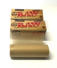 1 x RAW ROLLS RIPS CLASSIC 3m NATURAL UNREFINED KING SIZE ROLLING PAPER