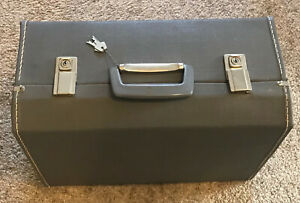 Vintage Husqvarna Viking Sewing Machine Hard Carry Case Suitcase 6000 Series