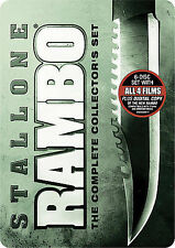 Rambo [First Blood]:Part I,II,III,IV The Collector's Set (DVD,6-Disc,Widescreen)