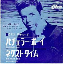 "CLIFF RICHARD - Bachelor Boy (ps, red vinyl, japan)  7"" 45"